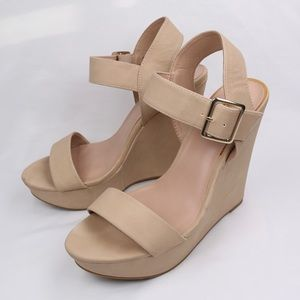 Mix No. 6 (JORDIE) HighHeel Platform Wedge Sandals